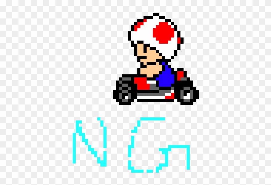 Toad Mario Kart Toad Mario Kart Pixel Clipart 3560929