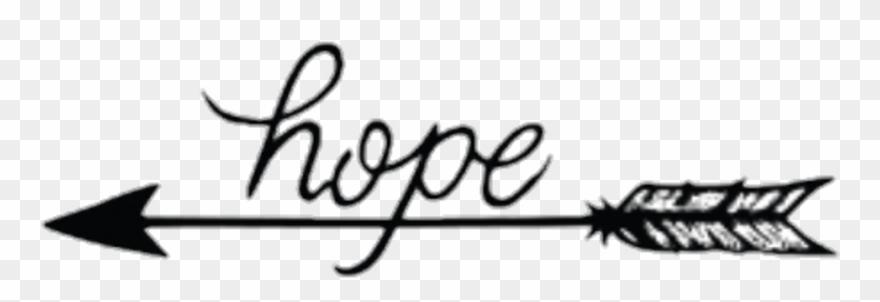 Arrow Hope Words Sayings Quotes - Tattoo Pijl En Tekst ...