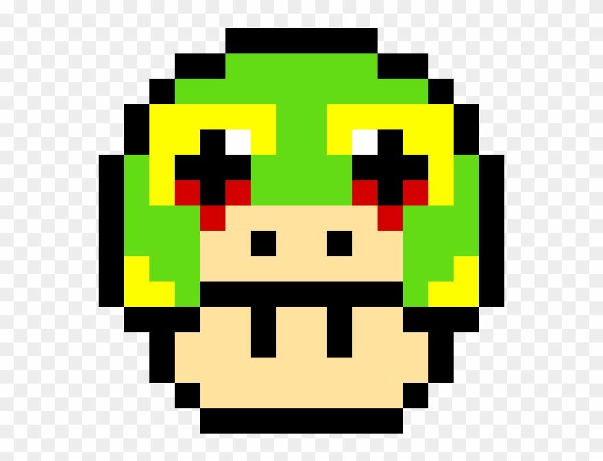 Lizard Lives Matter Pixel Art Mushroom Mario Clipart 3564730 Pinclipart