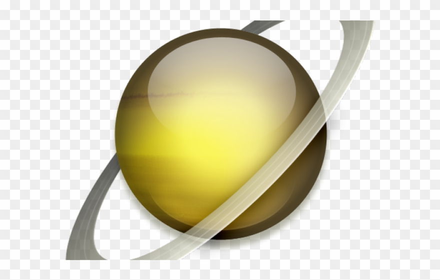 Planet Clipart Saturn - Saturn Icon - Png Download