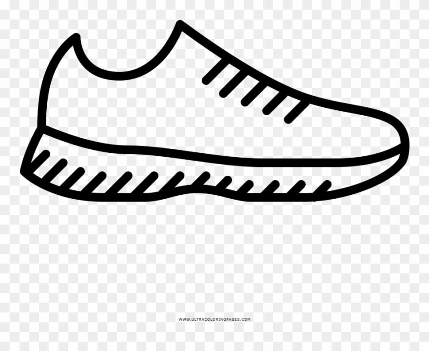 Zapatos Para Correr Pagina Para Colorear Dibujos De Zapatos Para