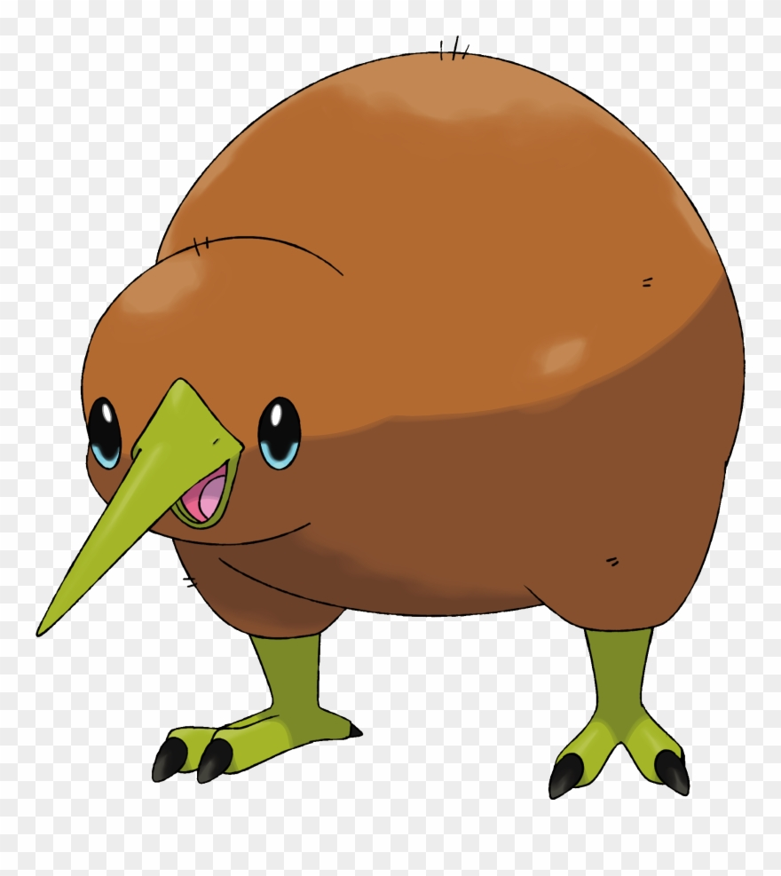 Kiwi Bird Drawing No Background Png Download Clipart