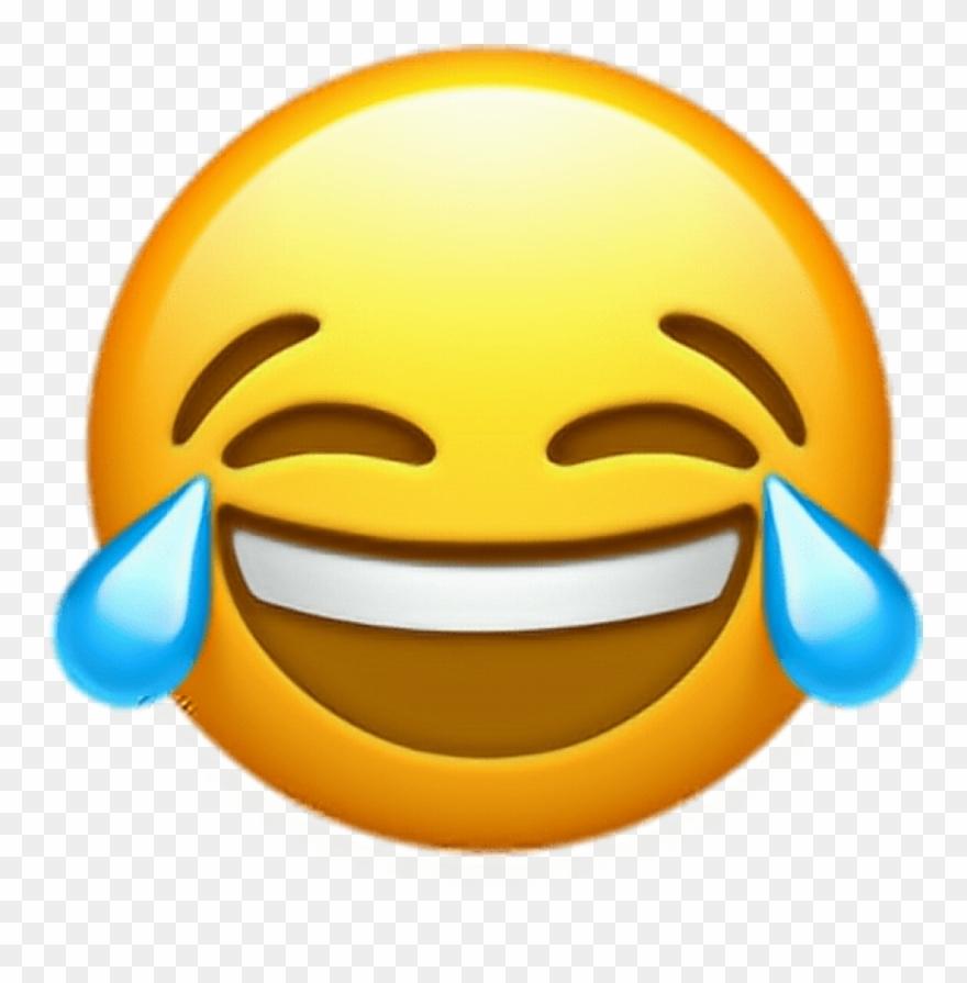 Free Png Download Ios 10 Crying Laughing Emoji Png - Ios 10 Crying Laughing Emoji Clipart