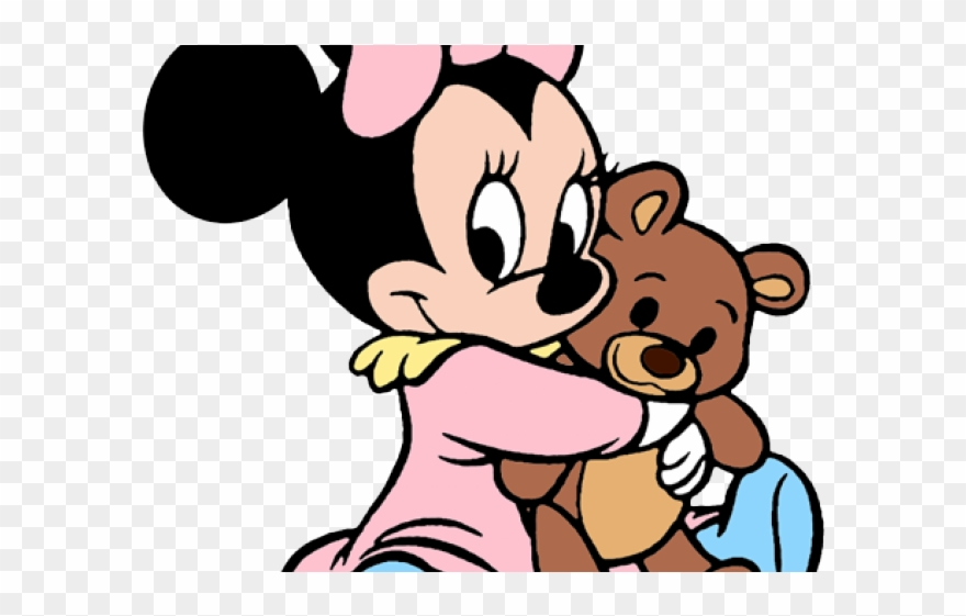 Baby Minnie Mouse Png Baby Minnie Mouse Coloring Page Clipart
