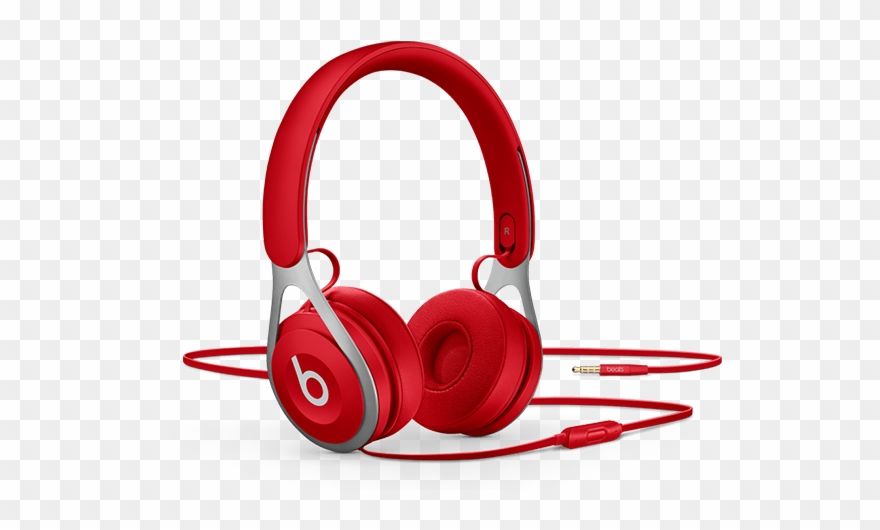 Red Headphone Png Image Background Red Beats Wired Clipart 3585487 Pinclipart