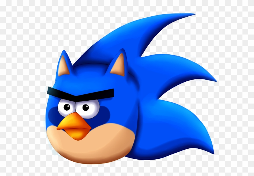Angry Clipart Hedgehog - Angry Birds Sonic The Hedgehog