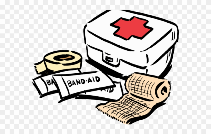 Survival Clipart Band Aid - Clipart First Aid Cartoon - Png Download