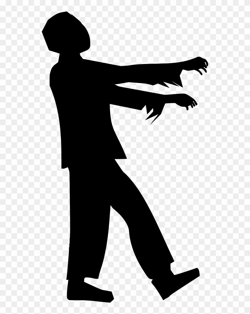 Download Png Zombie Silhouette Clipart 3592029 Pinclipart ✓ free for commercial use ✓ high quality images. download png zombie silhouette
