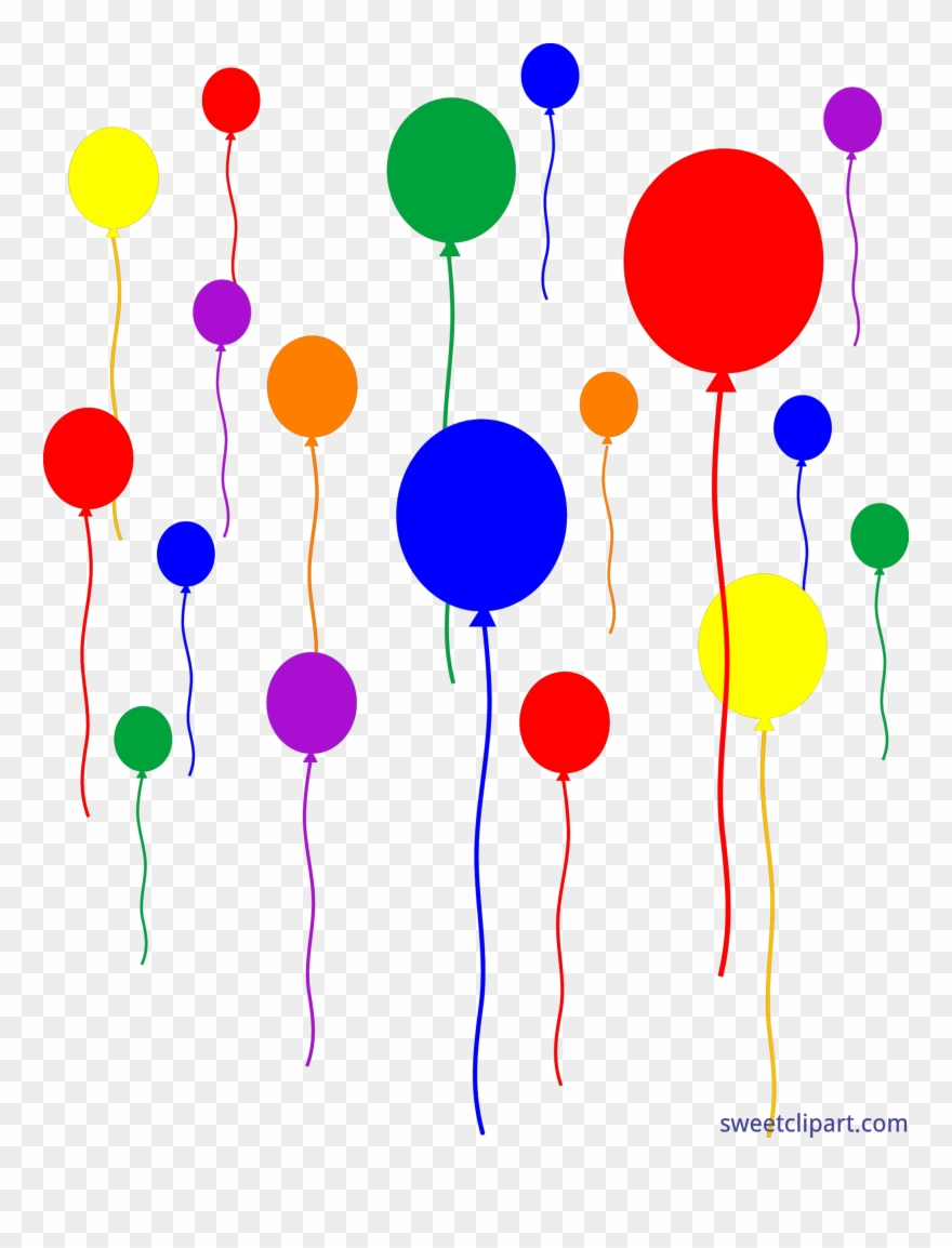 Vector Free Download Birthday Party Balloons Clipart Party Clipart