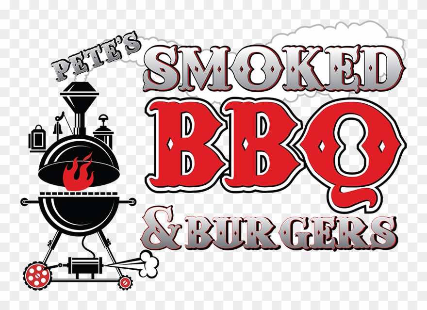 Png Black And White Library Barbecue Clipart Grill - Petes Bbq And Burgers Transparent Png