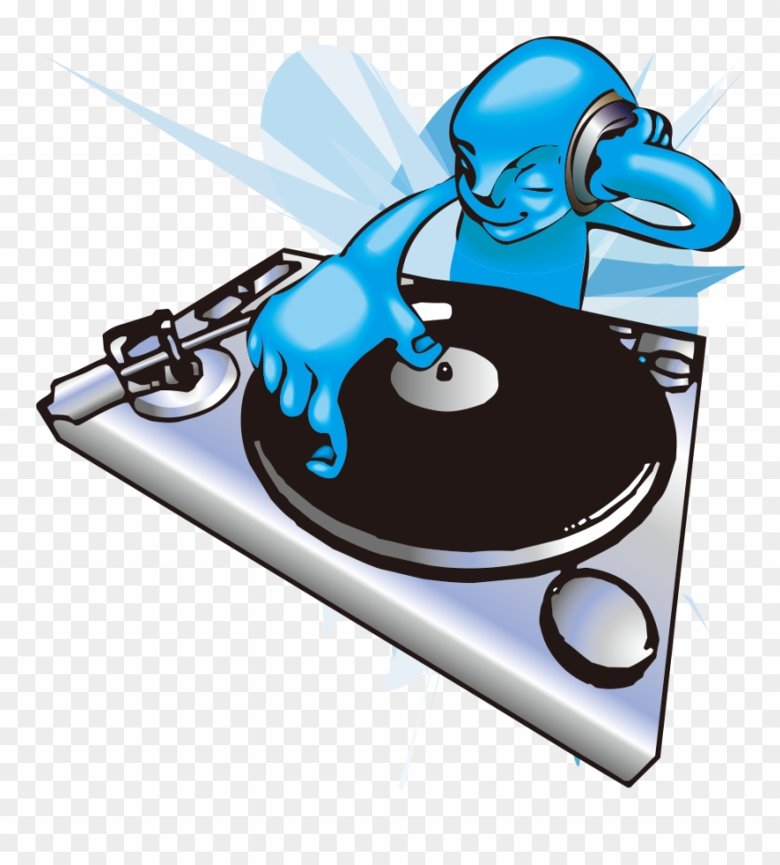 Picture Transparent Collection Of Free Dj - Dj Clipart - Png