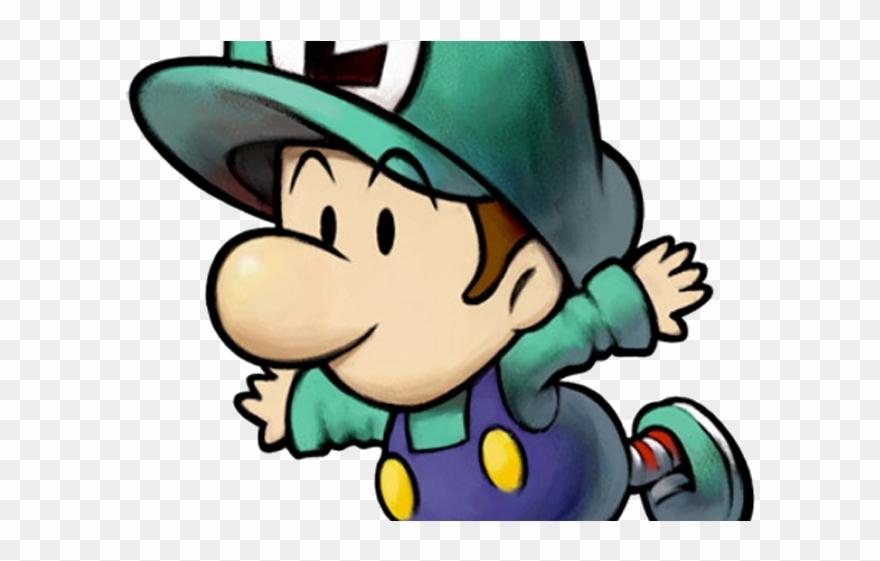 Princess Peach Clipart Luigi Partners In Time Mario And