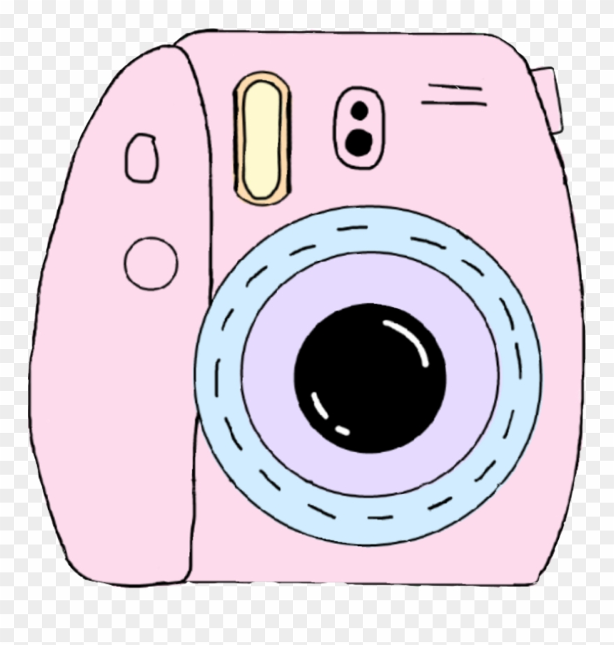 Polaroid Sticker Pastel Camera Clipart Png Transparent Png 3611709 Pinclipart