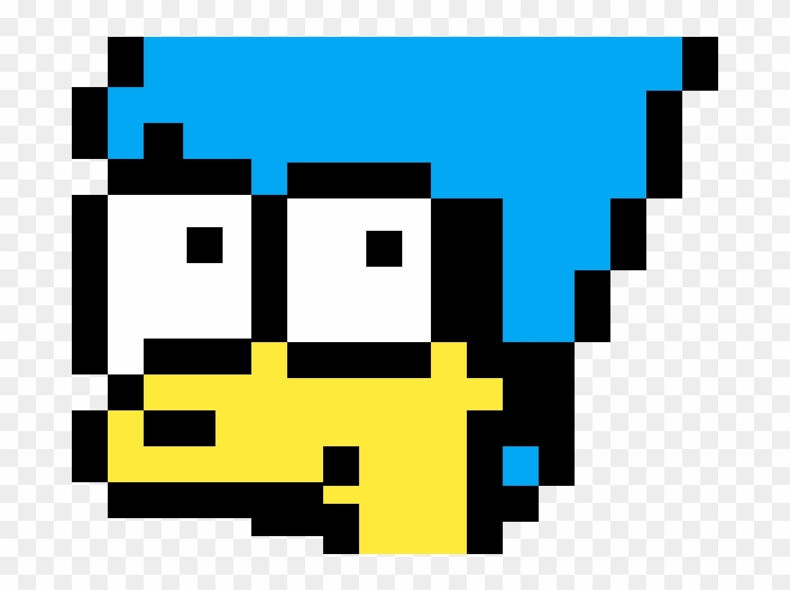 Pixel Art Minecraft Marge Simpson Png Download