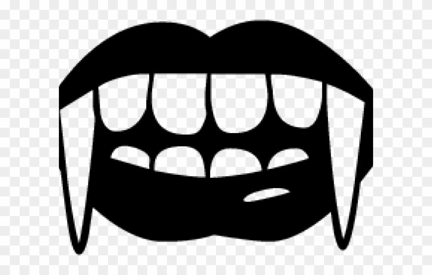 Fangs Clipart Vampire Diaries Vampire Teeth Cartoon Png Download