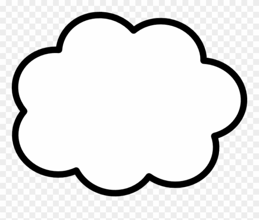 Free Png Download Thinking Cloud Png Png Images Background
