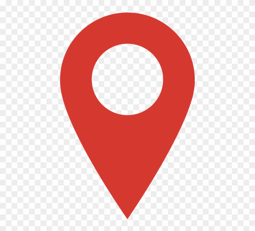 Location Pin Transparent - Location Logo Png Vector Clipart