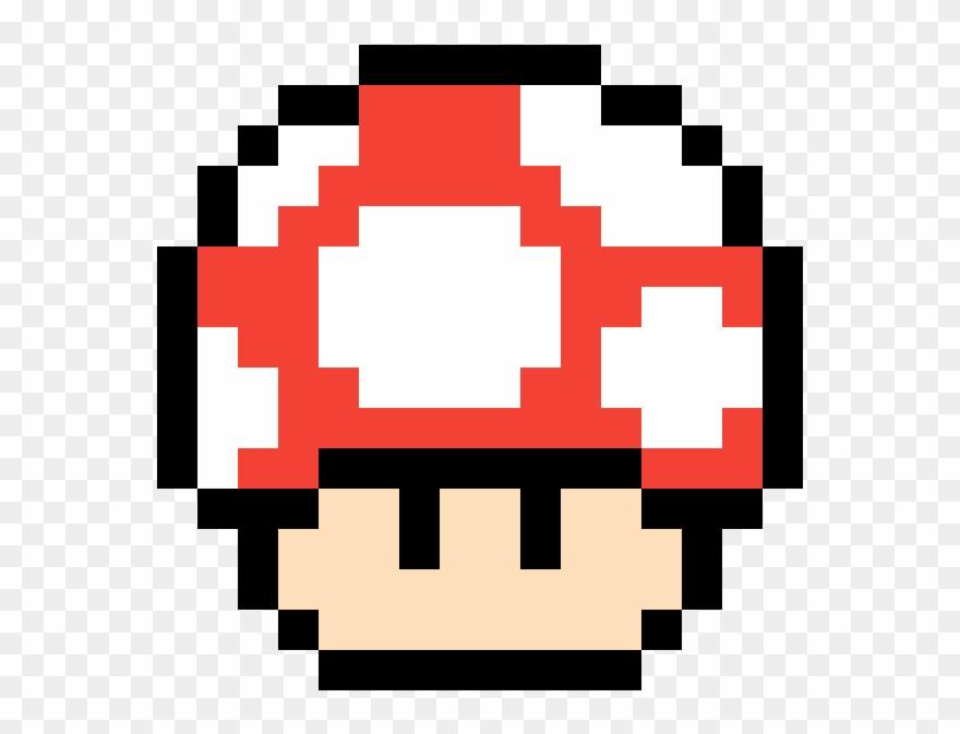 Mario Mushroom Pixel Mario Mushroom Gif Clipart 3640246