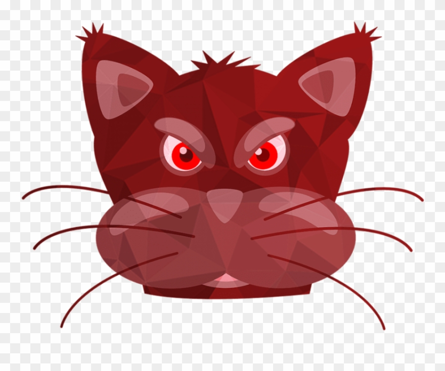 Free Png Download Cats Red Cat Pink Cat Cat Miror Poly Poly Cat