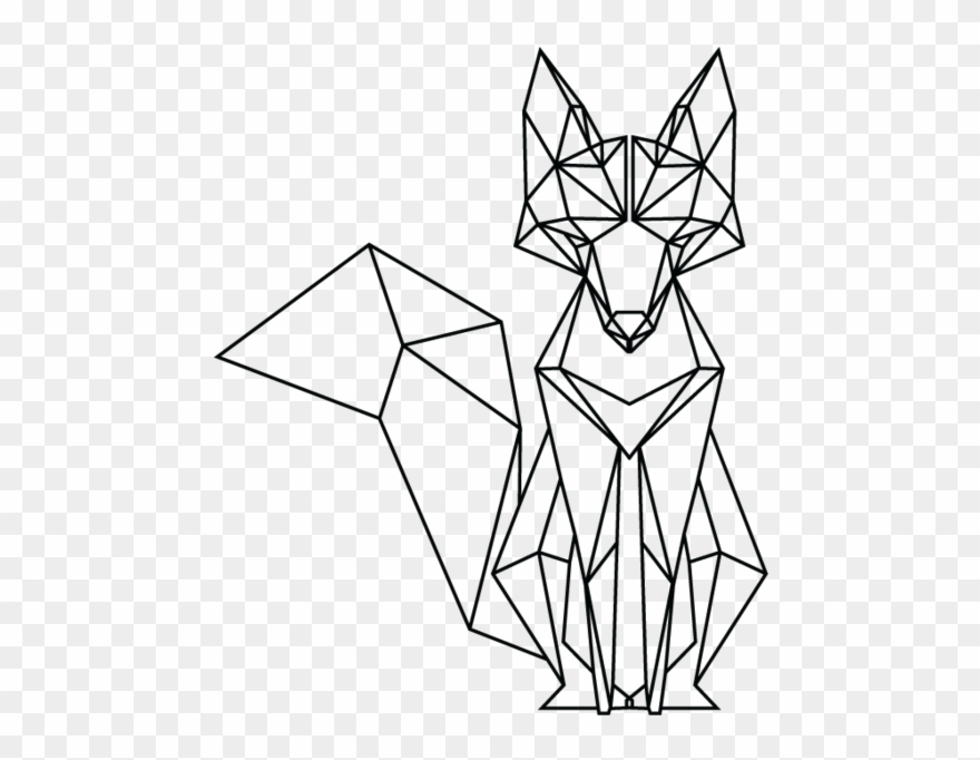 523 X 740 6 Easy Geometric Animal Drawing Clipart