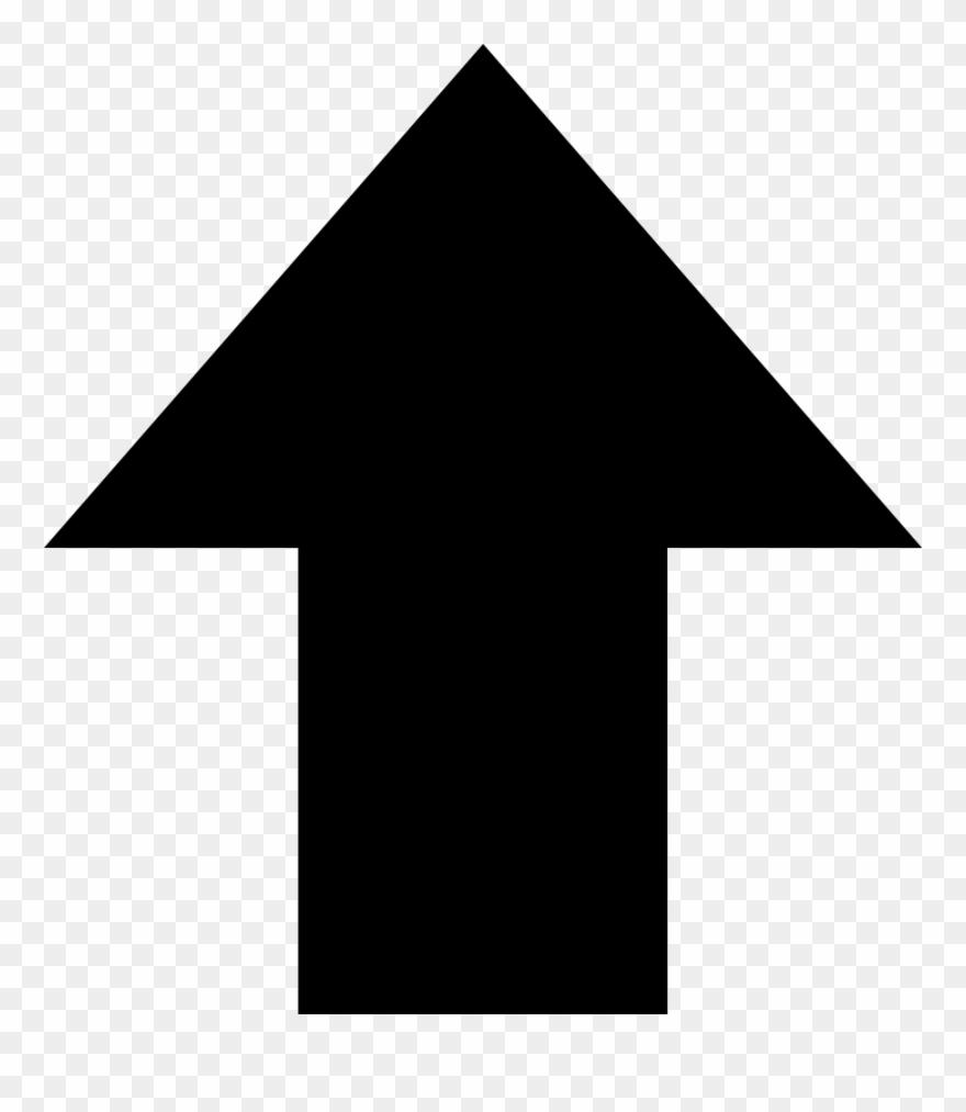 Large Arrow Up Comments - Arrow Up Clipart (#3651856) - PinClipart