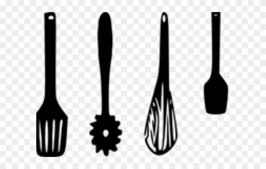 Kitchen Clipart Crockery Kitchen Utensils Clipart Black And White