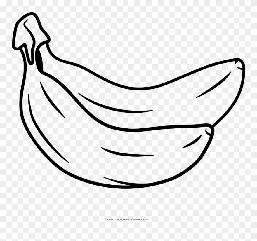 Bananas Coloring Page Desenho De Bananas Para Colorir Clipart