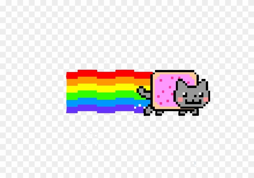 Nyan Cat Png Transparent Images Roblox Nyan Cat T Shirt Clipart Full Size Clipart 3663051 Pinclipart