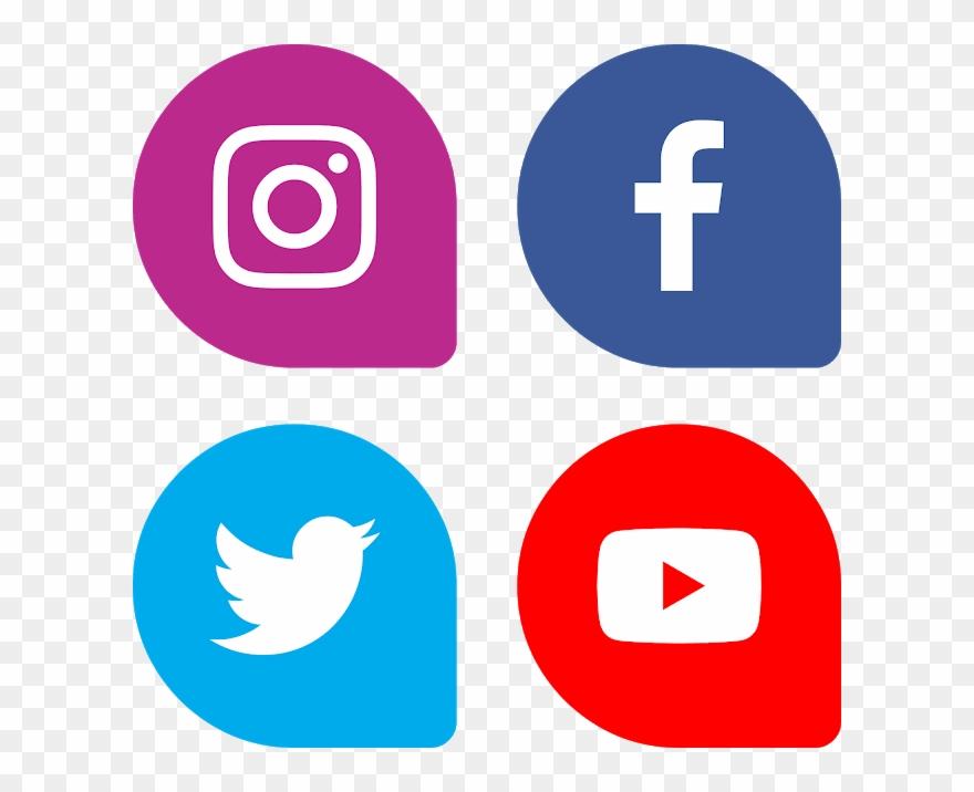 Download Bottons Facebook Instagram Twitter Youtube - Social