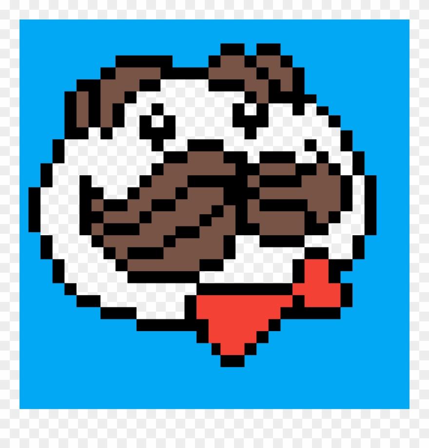 I Love Pringles Pixel Art Dessin Minecraft Clipart 3676112 Pinclipart