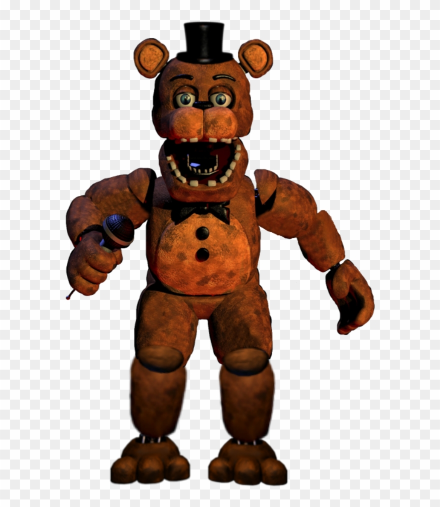 Unwithered Freddy By Sammy2005 - Fnaf 2 Withered Freddy