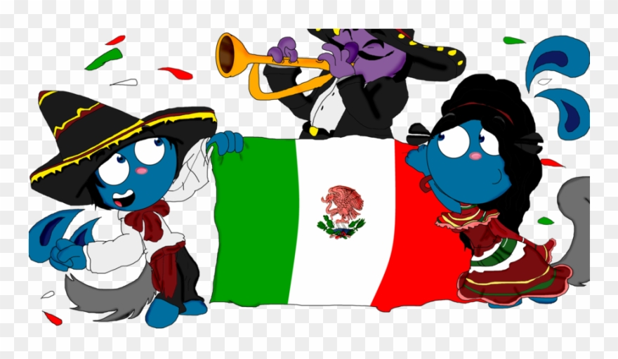 Mexican Independence Day Cartoon Clipart 3687158 Pinclipart
