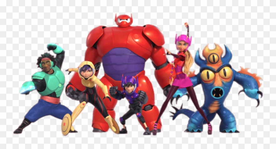 Big Hero 6 Characters In Full Armour Big Hero 6 Clipart 3699267 Pinclipart