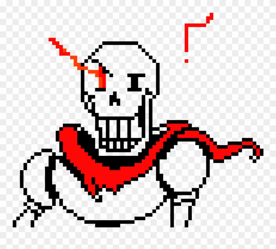 Papyrus Stronger Than You Iv - Papyrus Undertale Sprite Clipart