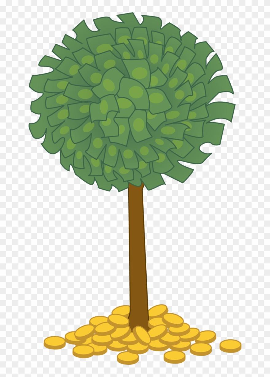 Money Tree Clip Art Money Tree Clipart Png Transparent Png