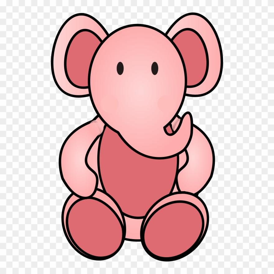Розовый слон картинки для детей, лучшие