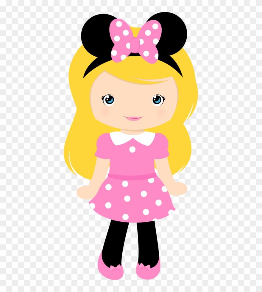 Girl cute. Clipart disney felt dolls