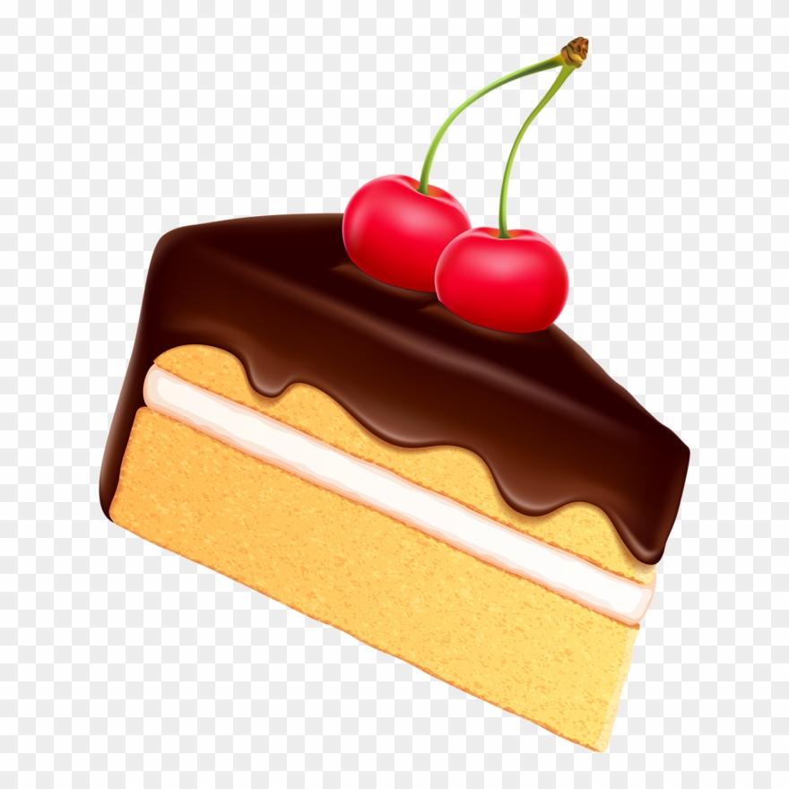 Cake piece. Slice clip art