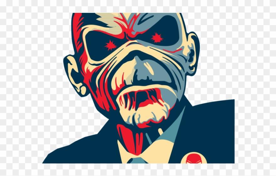 Megadeth Clipart Eddie Iron Maiden Change T Shirt Png Download
