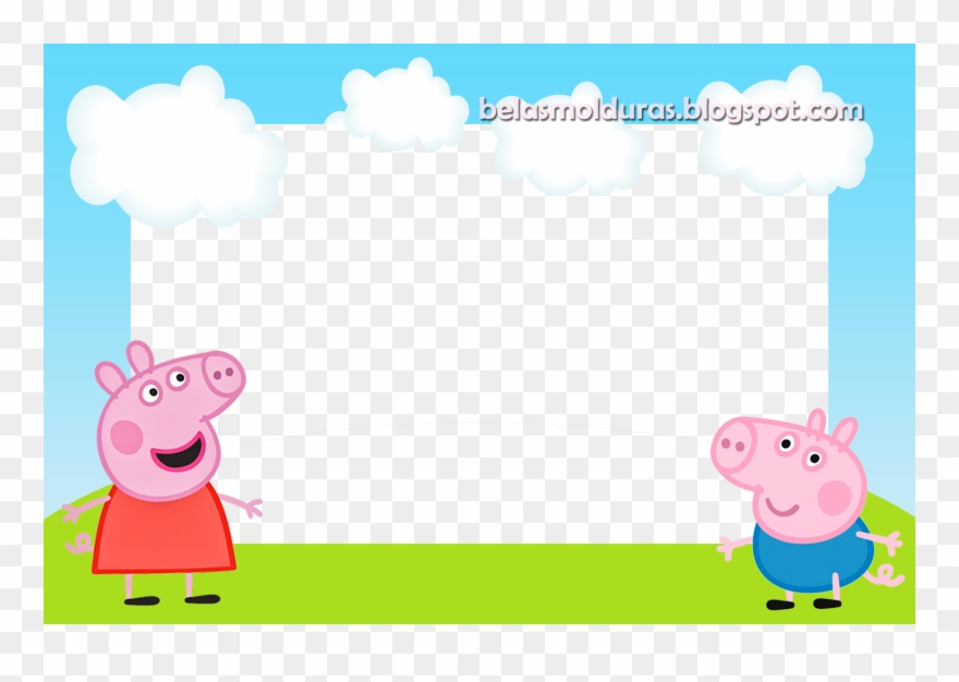 Peppa Pig And George Clipart 3705516 Pinclipart