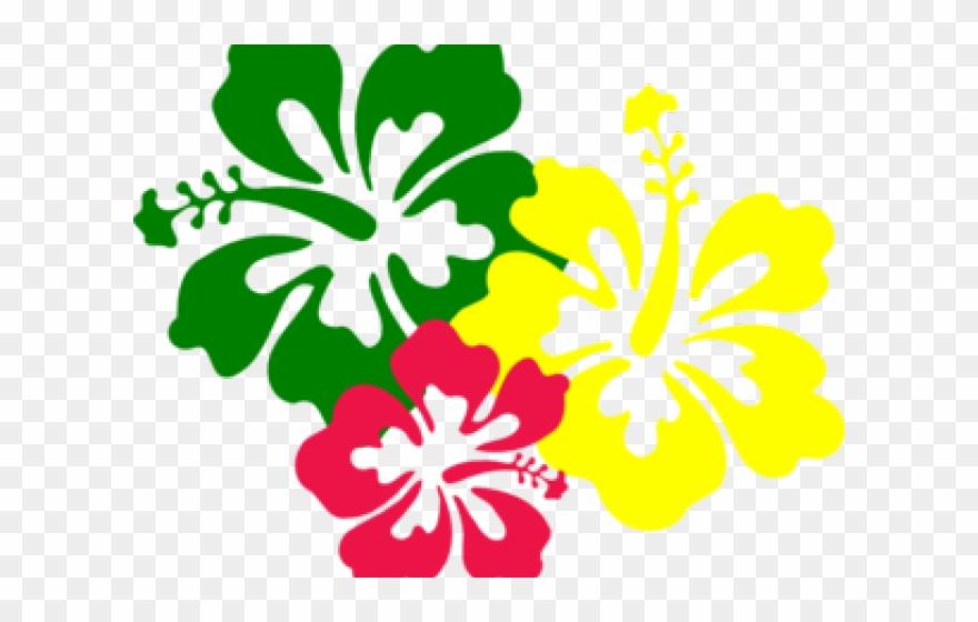 Plumeria Clipart - Hawaiian Flower Vector Png Transparent Png