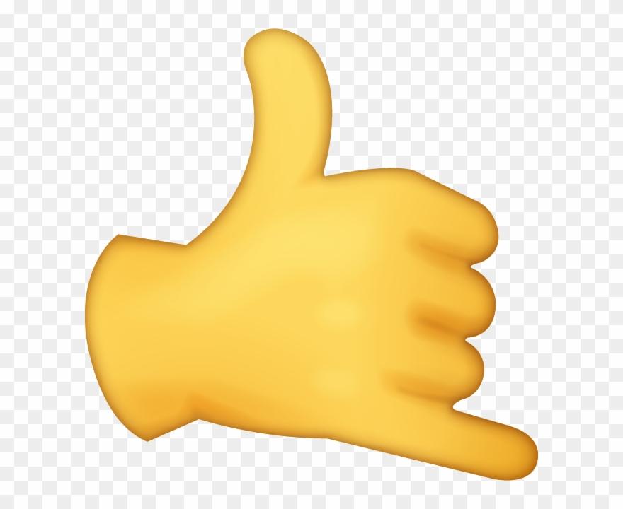 Hand Emoji Clipart Transparent Background - Iphone Hand Emoji Png