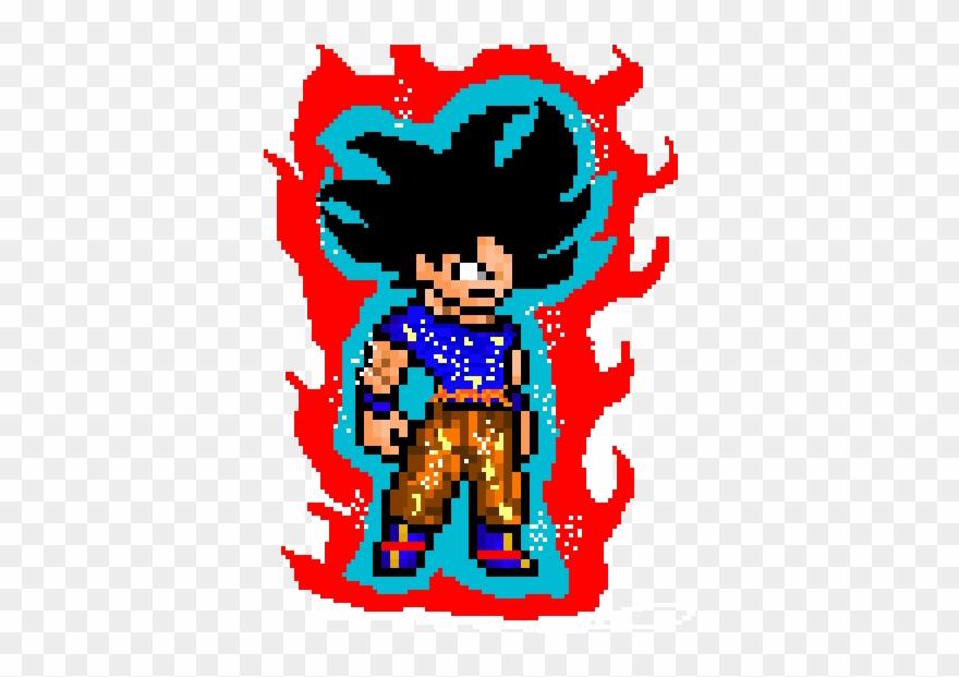 Goku Ultra Instinct Illustration Clipart 3722201