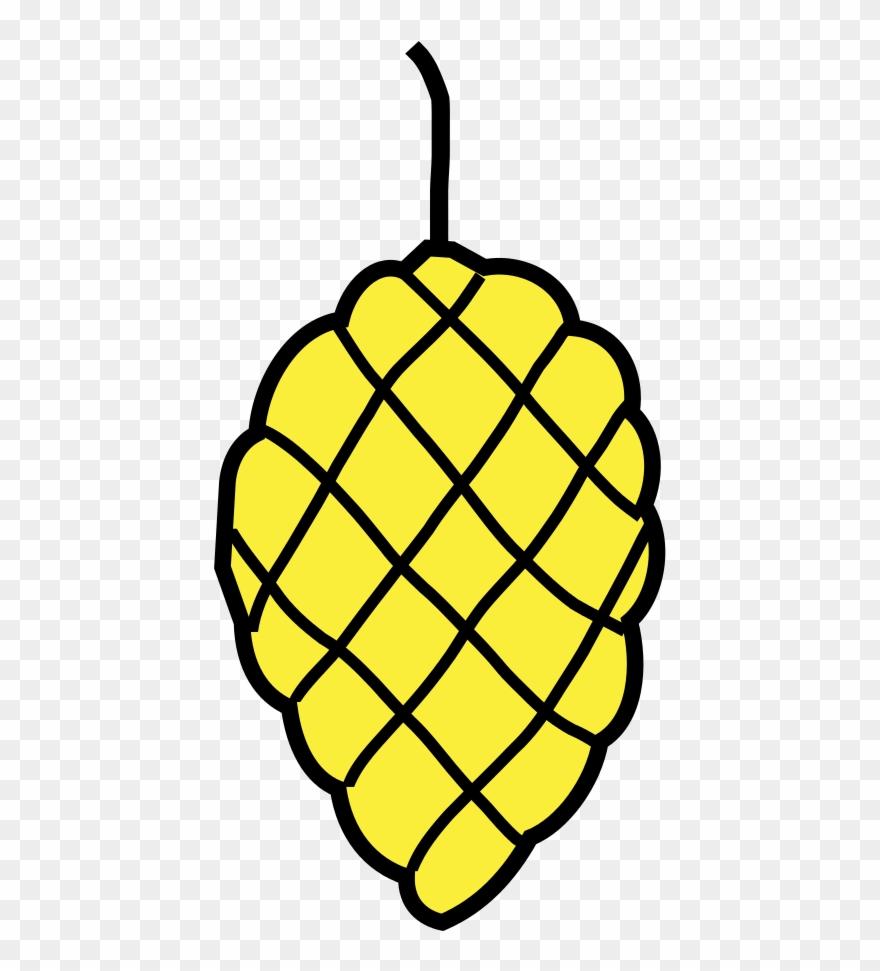 Héraldique Pomme Pin - Pomme De Pin Héraldique Clipart