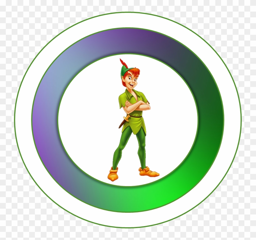 Peter Pan Toppers Or Free Printable Candy Bar Labels - Peter Pan Png Clipart
