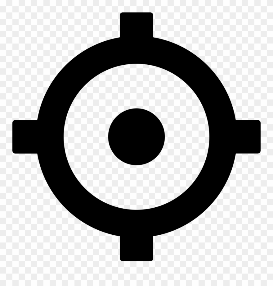 Transparent Crosshairs File - Circle Clipart (#3735361) - PinClipart