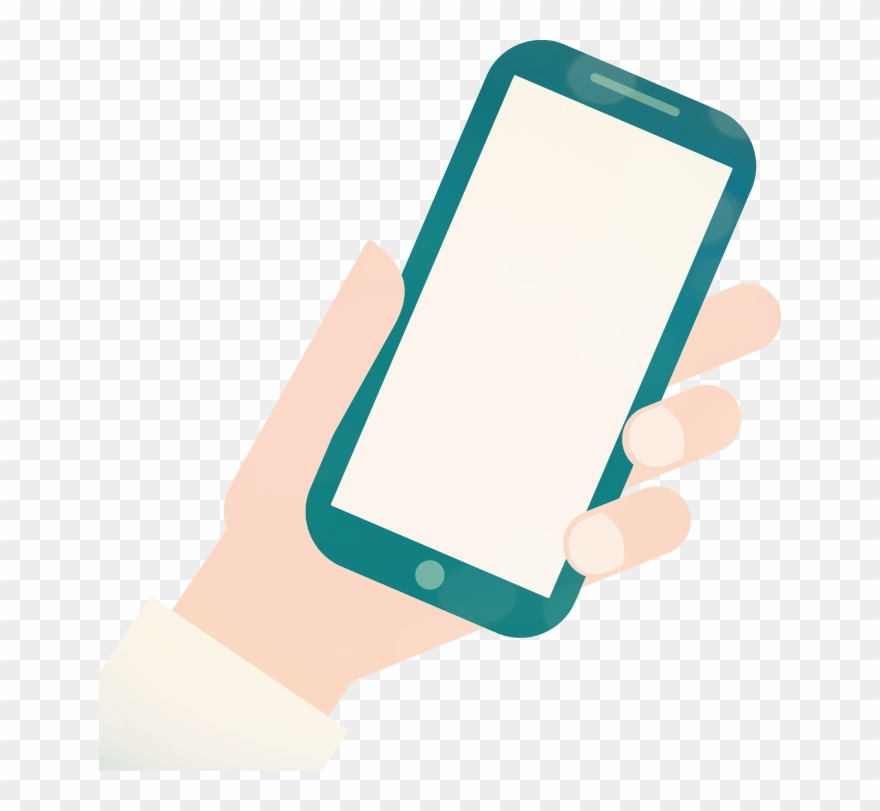 Cell Phone Icon >> Cell Phone Icon Png Transparent Person Holding Phone