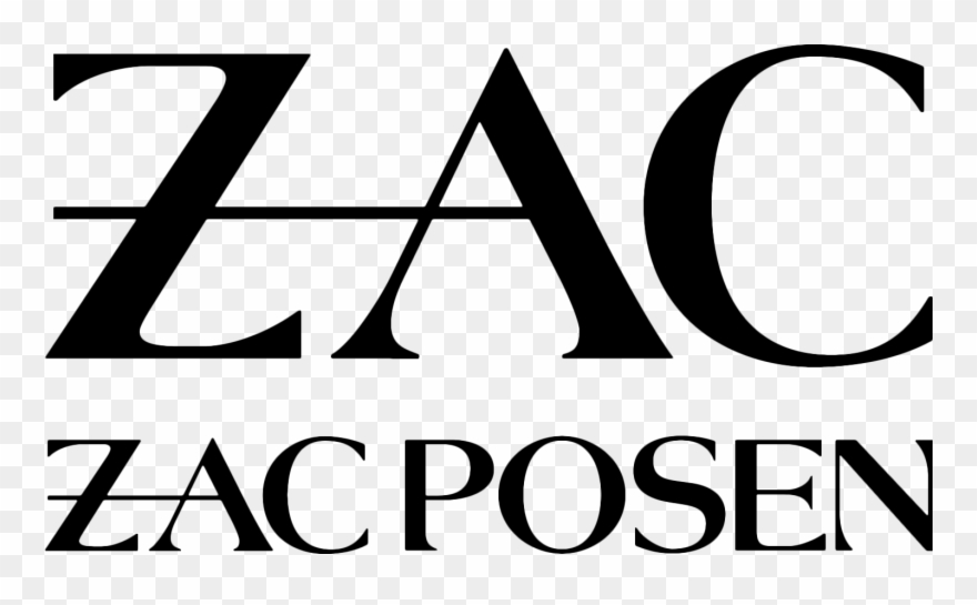 Zac Posen Is An American Luxury Fashion Designer From Zac Zac Posen Logo Clipart 3747583 Pinclipart