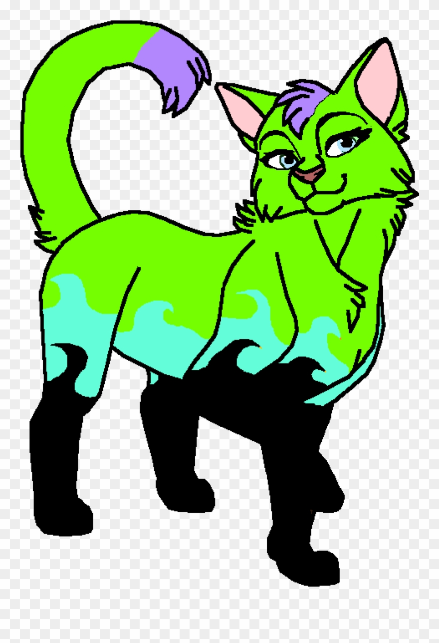 Peppermint As A Cat Clipart