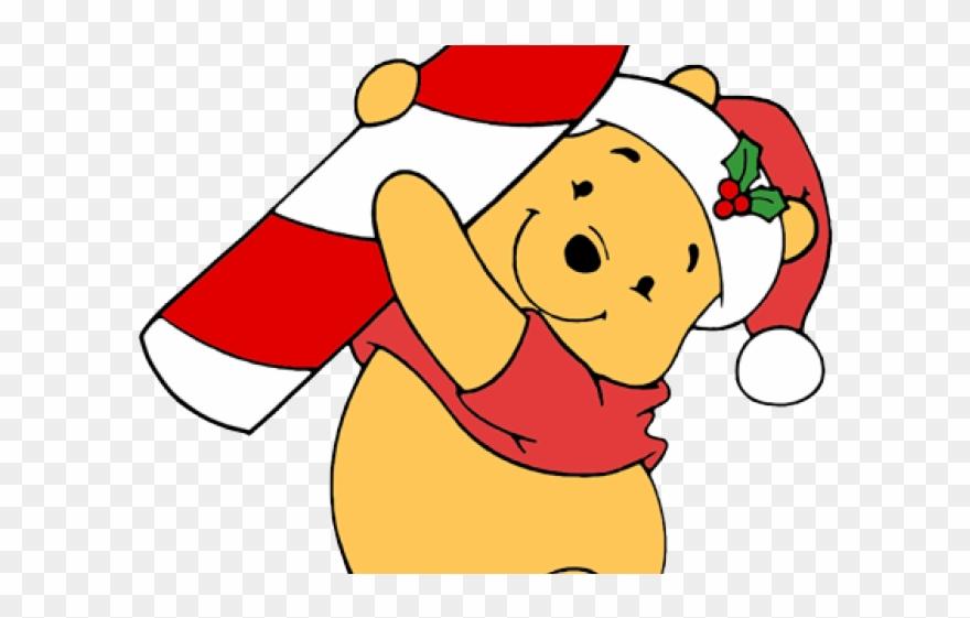 Winnie The Pooh Christmas.Cartoon Winnie The Pooh Christmas Clipart 3785115